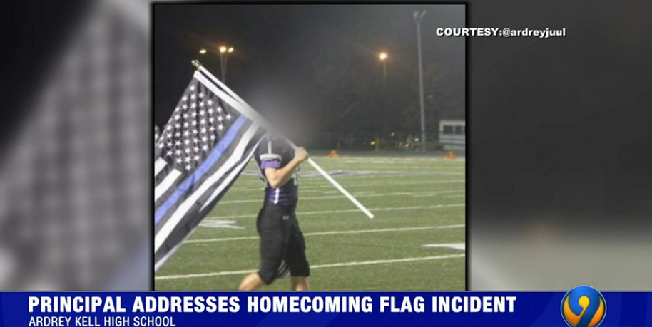 NC Principal Apologizes for Letting Football Player Honor Fallen SRO with