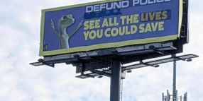 """Radical Group Adds """"Defund the Police"""" Message to Memphis Billboards"""