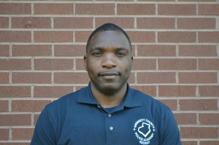 Ronald Donat, 41, died Tuesday after suffering a medical emergency during training at the Gwinnett County (GA) Police Academy. (Photo: Gwinnett County PD) -