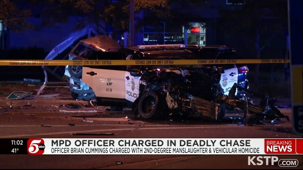 Minneapolis Officer Charged Over Fatal Pursuit Crash