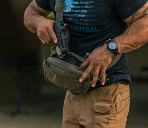 The LV6 from 5.11 Tactical is a versatile crossbody/waist pack. (Photo: 5.11 Tactical)