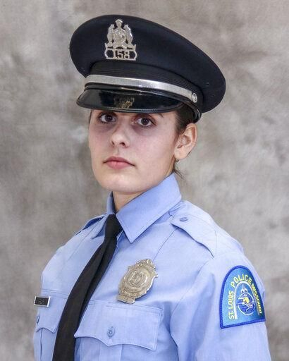 Officer Katlyn Alix, 24, of the St. Louis Police Department was killed Thursday while reportedly playing a game of Russian roulette. Officer Officer Nathaniel R. Hendren, 29, has been charged with involuntary manslaughter over the shooting. (Photo: St. Louis PD)  -