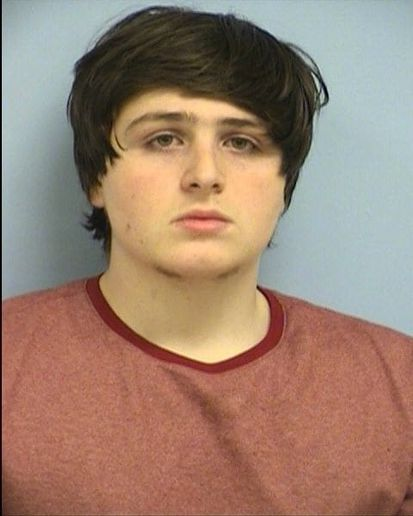Luca Mangiarano, 19, is accused of robbing a bank in Austin and making his escape on an electric scooter. He was arrested last week. (Photo: Austin PD)
