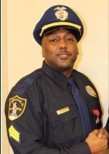 Sgt. Wytasha Carter of the Birmingham (AL) Police Department was killed Sunday when he was reportedly shot by a car burglary suspect. Another officer and a suspect were both critically wounded in the incident. (Photo: Birmingham PD)