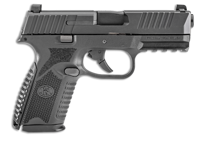 The FN 509 Midsize pistol is chambered in 9mm and features a four-inch slide and barrel, a frame with shortened grip, and 15- or 10-round magazine capacity with backward compatibility to higher capacity FN 509 magazines. (Photo: FN America)