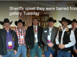 New Mexico Sheriffs Barred from Legislative Session Because of Duty Weapons
