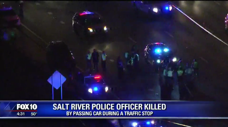 Video: Arizona Officer Dies After Being Struck by Vehicle at Traffic Stop