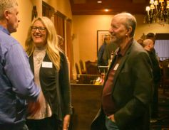 POLICE Publisher Leslie Pfeiffer and Editor David Griffith chat withTim Monaghan, information...