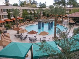 Early morning at the Scottsdale Resort at McCormick Ranch.