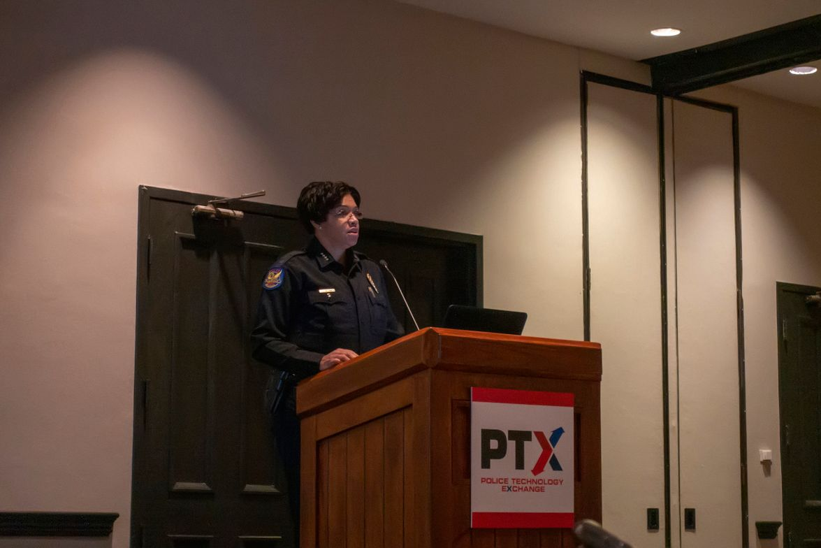 Phoenix Police Chief Jeri Williams gave the breakfast keynote. Her presentation discussed the...