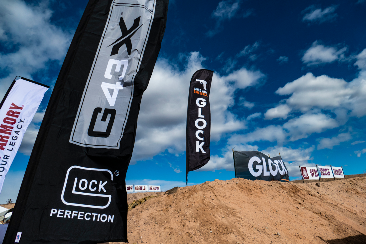 Glock promoted its new concealed carry pistols the G43X and G48 at Industry Day. (Photo: Michael...