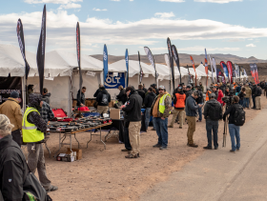 Industry Day at the Range involves numerous vendors. (Photo: Michael Hamann)