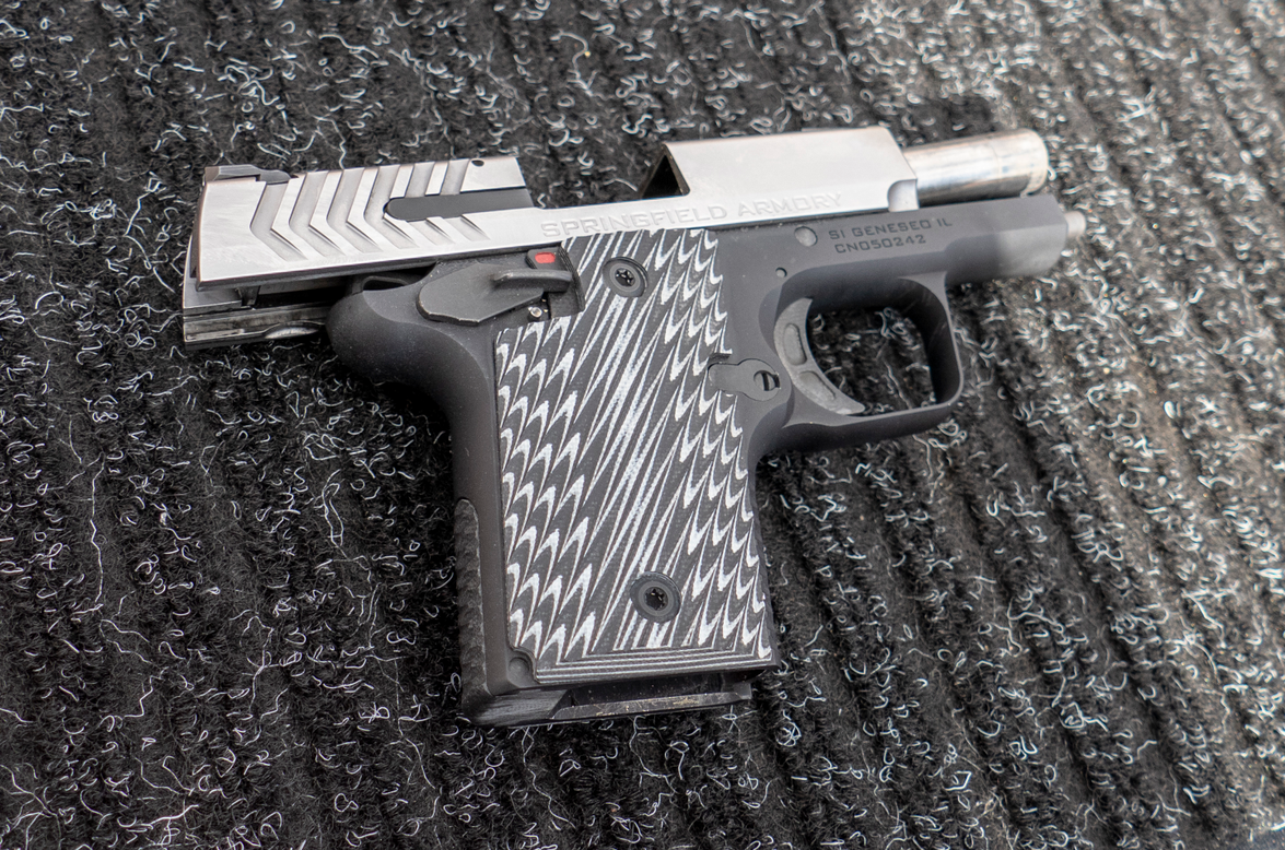 Springfield Armory's 911 concealed carry pistol was one of the hits of Industry Day. (Photo:...