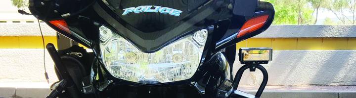 Tomar Electronics' Motorcycle Mounted Preemption Emitter  - Photo: Tomar Electronics