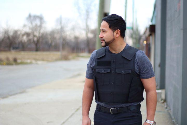BulletSafe Uniform Front Carrier  - Photo: BulletSafe Bulletproof Vests