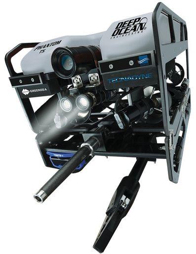 Deep Ocean Engineering Phantom T5 Defender ROV  - Photo: Deep Ocean Engineering