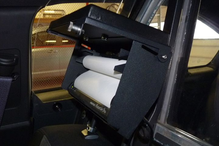 Baycom Inc. Brother Headrest Printer Mount - Photo: Baycom Inc.