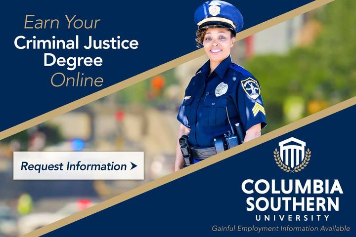 Columbia Southern University Online Criminal Justice Degrees - Photo: Columbia Southern University