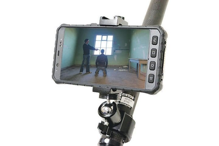 Zistos' Tactical Motorized IR Zoom System - Photo: Zistos