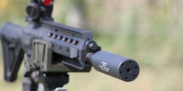 GSL Technology Inc. Tactical Rifle Suppressor for 5.56mm NATO