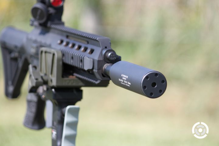 GSL Technology Inc. Tactical Rifle Suppressor for 5.56mm NATO - Photo: GSL Technology Inc.