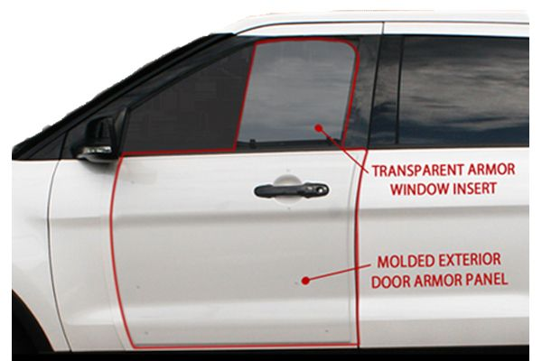 Hardwire LLC B-Kit Add-On Vehicle Armor - Photo: Hardwire LLC