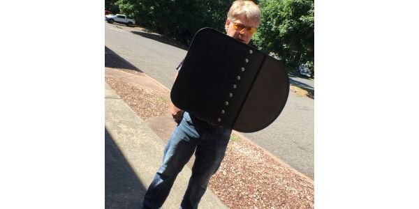 NIJ Level IIIA Foldable Ballistic Cop Shield
