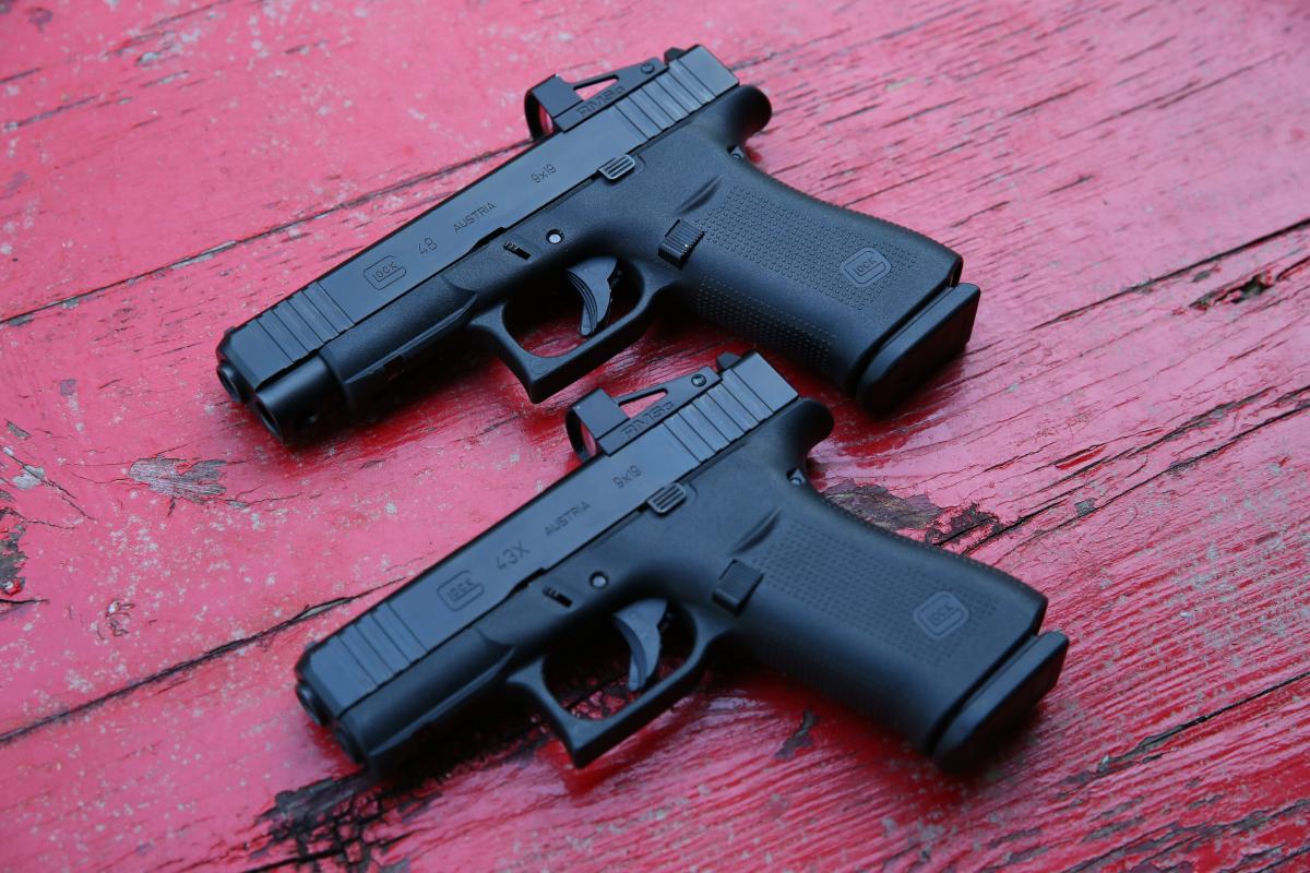 Slimline MOS Glock 43X and Glock 48