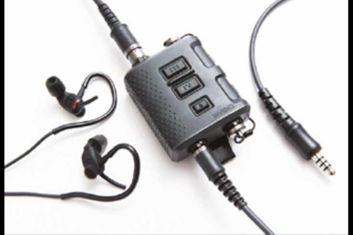 Invisio X5 In-Ear Headset