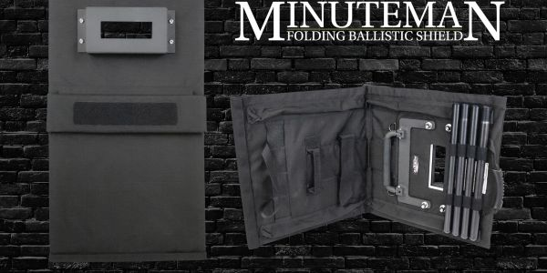 Minuteman Folding Ballistic Shield