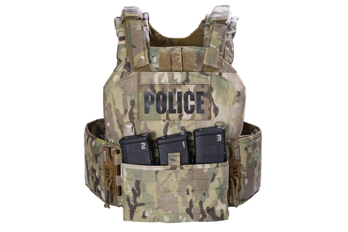 Special Response Vest (SRV) Laser