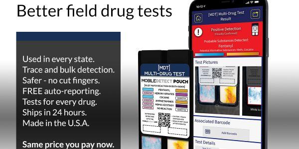 MobileDetect Field Drug Tests
