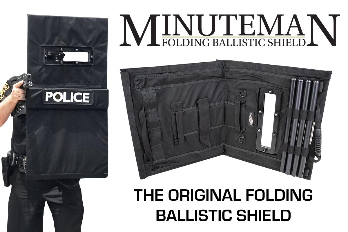 Minuteman Folding Ballistic Shield