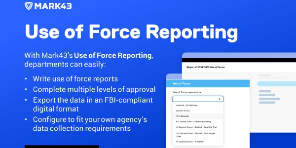 Use of Force Reporting
