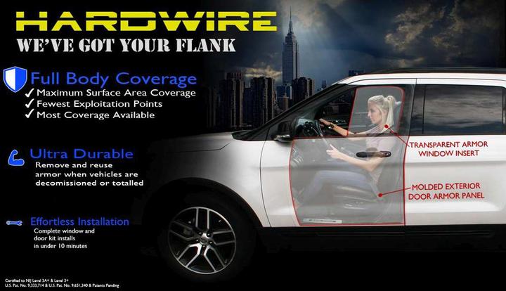 - Hardwire LLC-Hardwire's Add-On Vehicle Armor