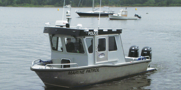 26-Foot Custom Patrol Boat