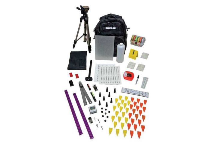 Sirchie LTF200 Advanced Laser Trajectory Finder Kit - Photo: Sirchie
