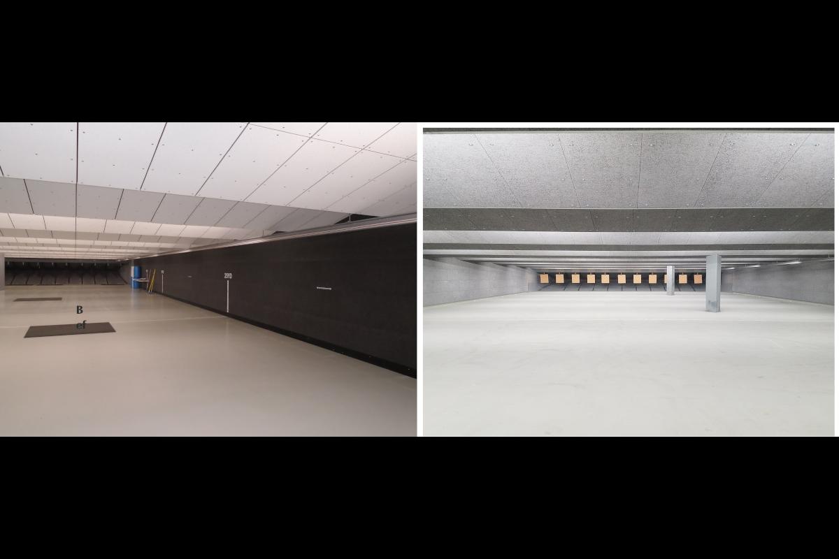 Indoor and Outdoor Shooting Range Acoustics Solutions