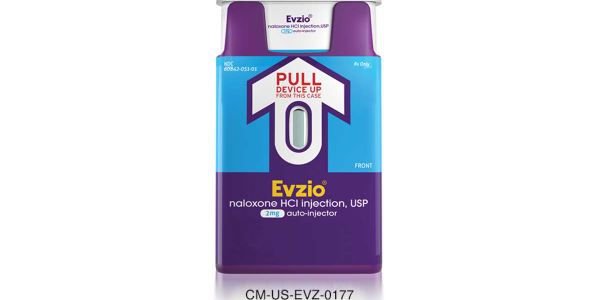 Evzio Evzio (naloxone HCI injection) 2 mg auto-injector