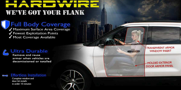 Hardwire LLCHardwire's Add-On Vehicle Armor
