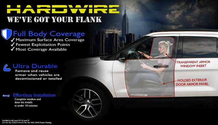 Hardwire LLC Hardwire's Add-On Vehicle Armor
