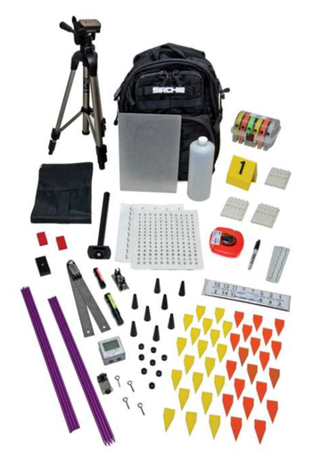 Sirchie LTF200 Advanced Laser Trajectory Finder Kit