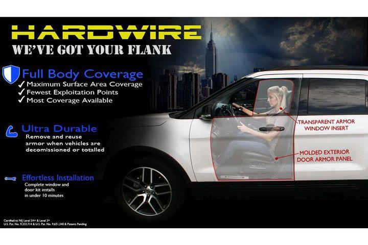 Hardwire LLC Add-On Vehicle Armor  - Photo: Hardwire
