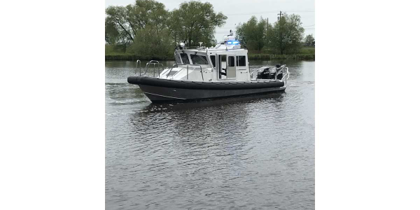 Lake Assault Boats Patrol Craft to Wisconsin DNR