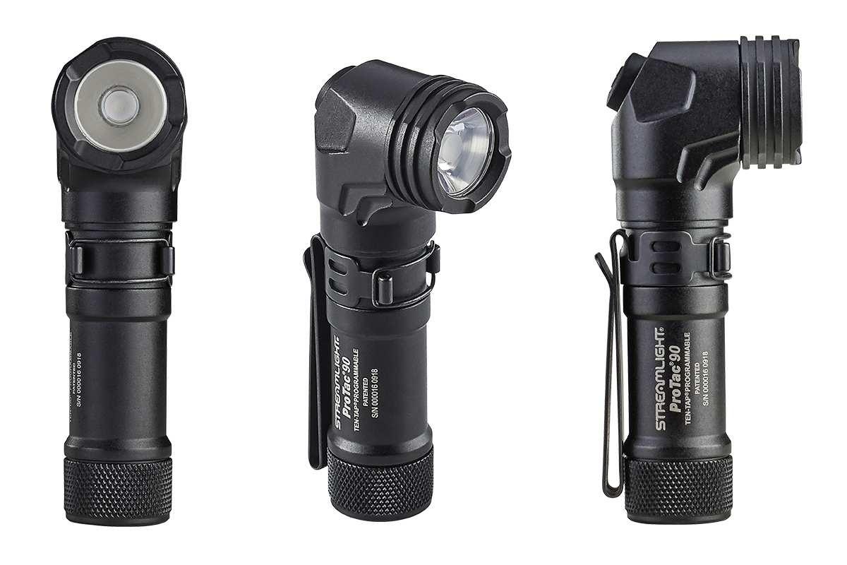 Streamlight Inc. ProTac 90 Multi-Fuel Right-Angle Tactical Flashlight  - Photo: Streamlight Inc.