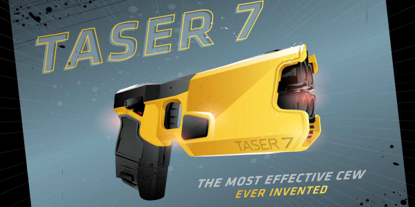 Axon designed its new TASER 7 to be the most effective CEW ever.
