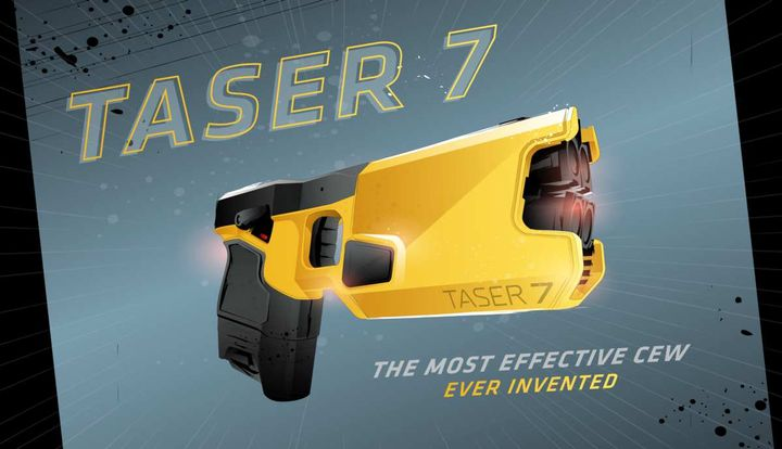 Axon designed its new TASER 7 to be the most effective CEW ever.  - Photo: Axon