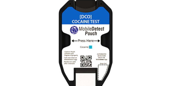 The DetectaChem MobileDetect Pouch's patent pending design allows for trace and bulk detection...