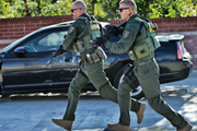 First Tactical's Defender Pant is made with 28 specialized pockets and NYCO fabric featuring...