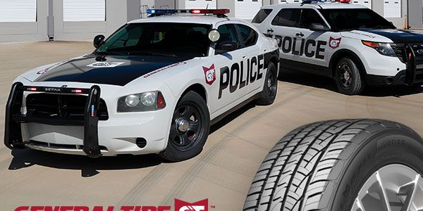 General Tire's G-Max Justice tire is designed for law enforcement fleets and high-speed pursuit...